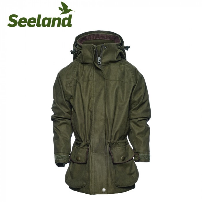 01ce57888f8ba Buy Seeland Woodcock II Kids Jacket Shaded Olive Online. Only £88.99 ...