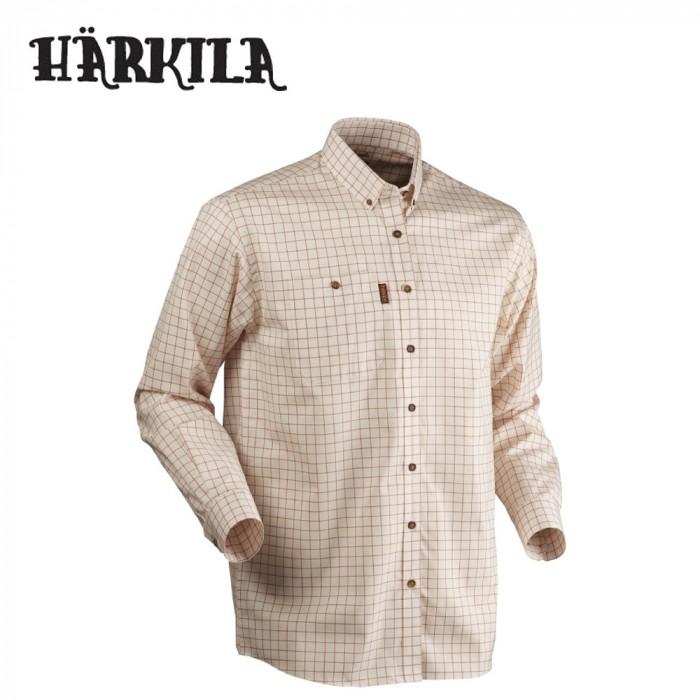 11fb8425e Harkila Stenstorp Button Under Shirt Burnt Orange