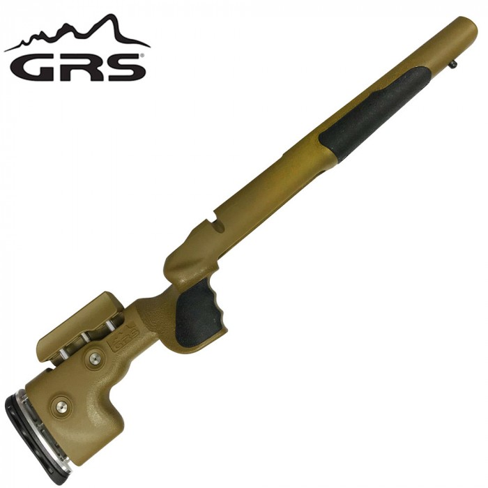 Grs Berserk Adjustable Ral 8000 Stock Tikka T3/T3X Right Handed