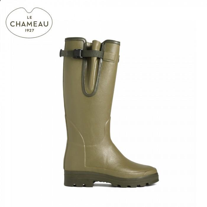 2035ab88a4d Le Chameau Vierzonord Neoprene Lined Wellington Boots (Mens)