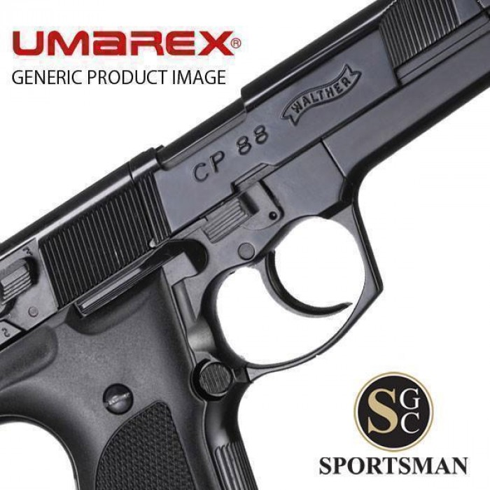 Umarex Walther CP88 Black Competition  177
