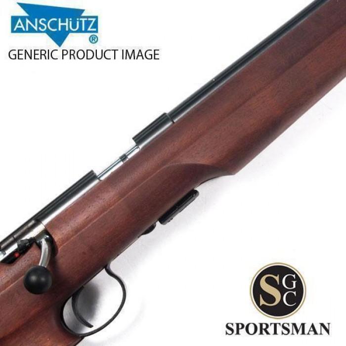 Anschutz 1416 D HB Walnut Thumbhole Stock  22 LR
