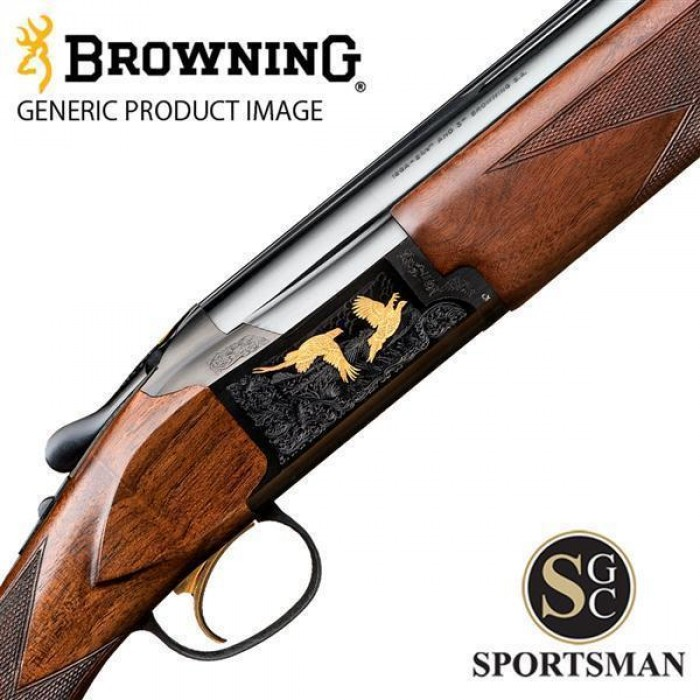 Browning B725 Game UK Black Gold Ii Inv Ds 12G