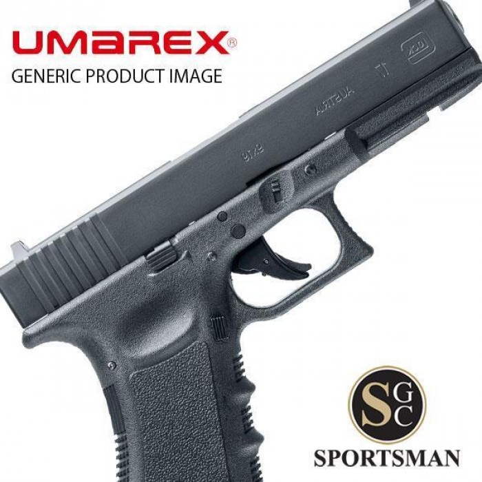 Umarex Glock 17 pellet/BB blow back  177 /  177 BB