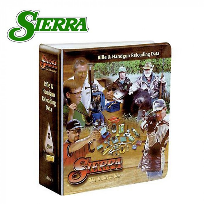 Sierra 5th Edition Rifle And Handgun Reloading Manual Each