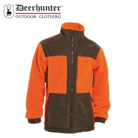 Deerhunter Retrieve Fibre Pile Jacket Orange