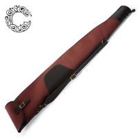 Croots Rosedale Canvas Rifle Slip Flap & Zip - Fox Tan