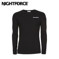 Nightforce Long Sleeve T Shirt Black Nf Womens