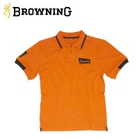 Browning Ultra Polo Shirt Dark Orange