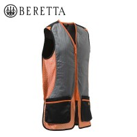 Beretta Silver Pigeon Vest Black And Orange