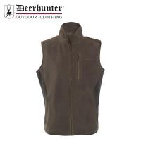 Deerhunter Gamekeeper Bonded Fleece Waistcoat - Canteen