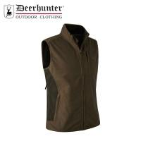 Deerhunter Bonded Fleece Waistcoat - Canteen