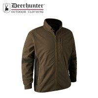 Deerhunter Bonded Fleece Jacket - Canteen