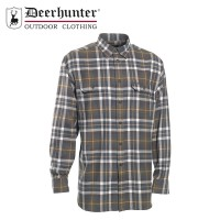 Deerhunter Marlon L/S Shirt Green Check