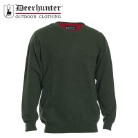 Deerhunter Brighton Knit O Neck Green
