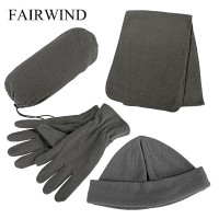 Fairwind Hat, Scarf And Gloves Fleece Glove Set