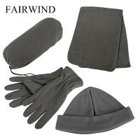 Fairwind Hat, Scarf And Gloves Fleece Glove Set