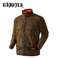 Harkila Kamko Fleece Hunting Green/Orange Blaze