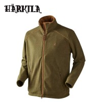 Harkila Sandhem Fleece Jacket Olive Green Melange