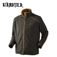 Harkila Sandhem Fleece Jacket Earth Grey Melange