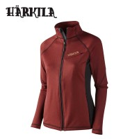 Harkila Vestmar Hybrid Lady Fleece Syrah Red Melange