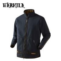 Harkila Kamko Sporting Fleece Jacket Dark Navy Blue/Highland Green