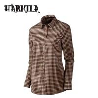 Harkila Selja Lady Ls Check Shirt Bright Port Check