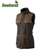 Seeland Winster Lady Softshell Waistcoat Black Coffee
