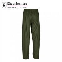 Deerhunter Hurricane Rain Trousers Art Green