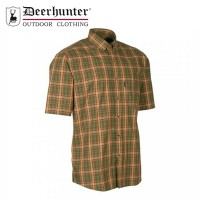 Deerhunter Mitchell S/S Shirt Red Checkered