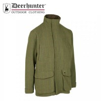 Deerhunter Moorland Tweed Jacket Dried Herb