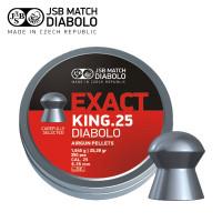 Jsb Exact King .25 Cal 6.35mm 350pk