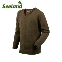 Seeland Clent Kids Pullover Shaded Olive