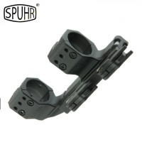 Spuhr ISMS Quick Detach 1 Piece 30mm Cantilever Scope Mount - To Fit: Picatinny Rail