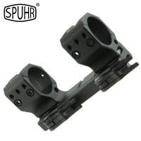 Spuhr ISMS 1 Piece 34mm Quick Detach Scope Mounts - To Fit Picatinny Rail