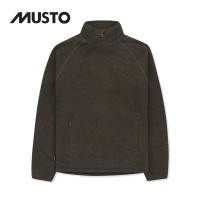 Musto Polartec Windjammer Fleece Half Zip Forest Green