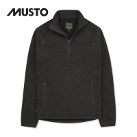 Musto Polartec Windjammer Fleece Half Zip Liquorice