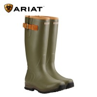 Ariat Burford Insulated Wellington Boots - Olive Green (Mens)