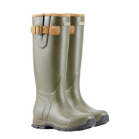 Ariat Burford Insulated Ladies Wellington Boots - Olive Green (Female)