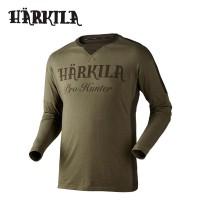 Harkila Pro Hunter L/S T Shirt Lake Green/Shadow Brown