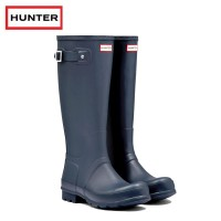 Hunter Original Tall Navy Wellington Boots (Unisex)