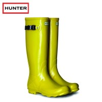 Hunter Womans Norris Field Sulphur Wellington Boots (Ladies)