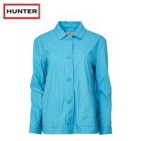 Hunter Original Rubberised Rain Smock Sky Blue