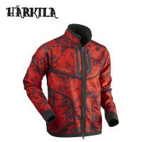 Harkila Lynx Reversible Hsp Jacket Willow Green/Red Blaze