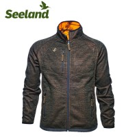 Seeland Kraft Reversible Fleece Jacket Realtree Apb/Soil Brown