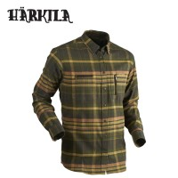 Harkila Eide Shirt Shadow Brown Check