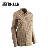 Harkila Selja Lady L/S Shirt Moonlight Rose Check