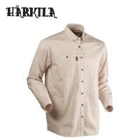 Harkila Stenstorp Button Under Shirt Burnt Orange