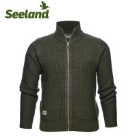 Seeland Dyna Full Zip Cardigan Grizzly Brown
