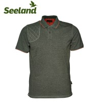 Seeland Clayton Classic Polo Forest Night Melange